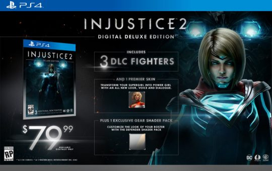 Injustice 2 game review supergirl