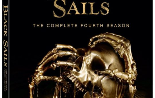 Black Sails Season 4 Blu-ray DVD Lionsgate Home Entertainment release