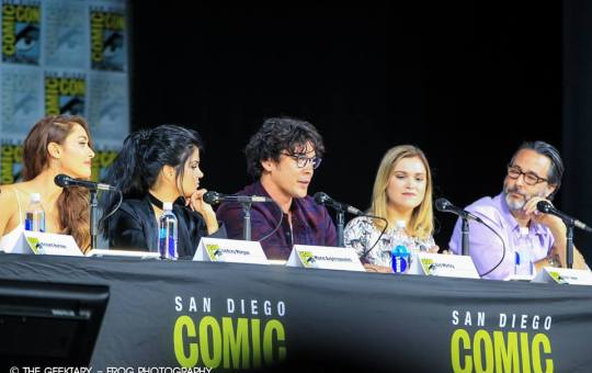 The 100 at SDCC 2017