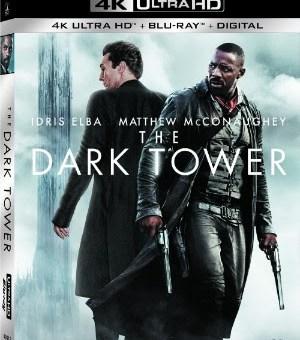 The Dark Tower Blu-ray DVD 4K Ultra HD release Sony