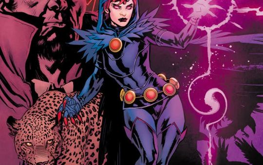 Raven Daughter of Darkness DC Comics Marv Wolfman