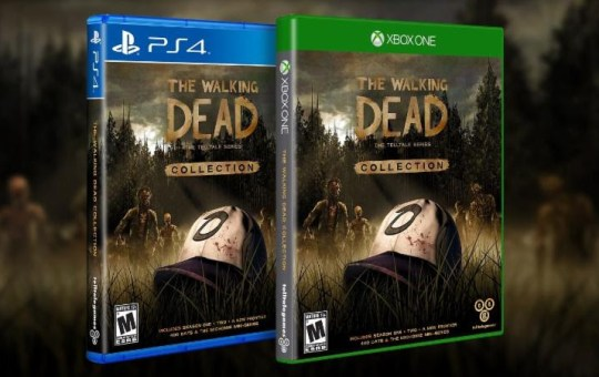 Telltale Series The Walking Dead Game Collection PS4 Xbox One Clementine