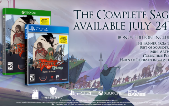 The Banner Saga Bonus Edition 505 Games release