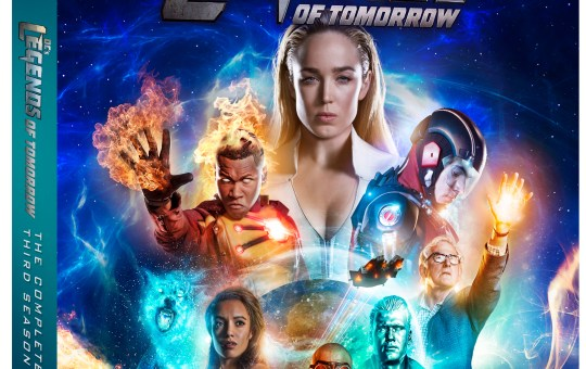 DC's Legends of Tomorrow Season 3 Blu-ray DVD release