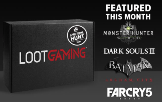 Loot Gaming April The Hunt Review Unboxing
