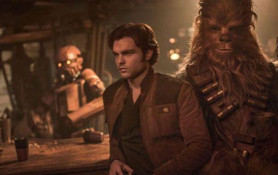 han solo chewbacca star wars