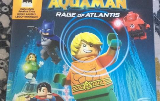 LEGO DC Aquaman Rage of Atlantis Blu-ray review