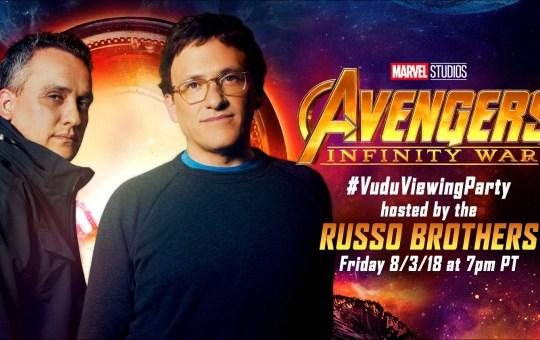 Avengers Infinity War Vudu Viewing Party
