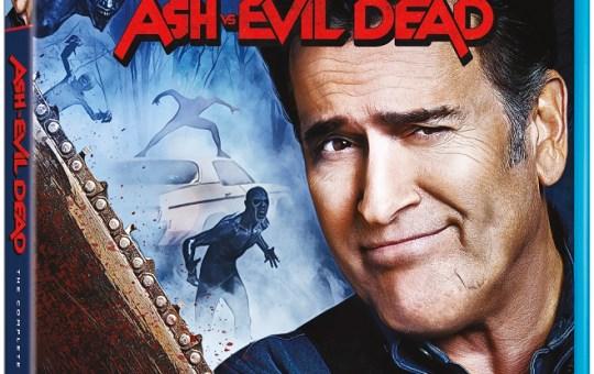 Ash vs Evil Dead The Complete Collection Blu-ray DVD release Lionsgate