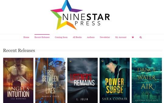 NineStar Press Queer book release October 8 2018