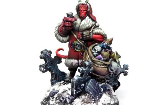 Holiday Hellboy Miniature Mantic Games