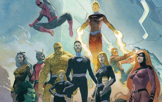 Fantastic Four Marvel comics