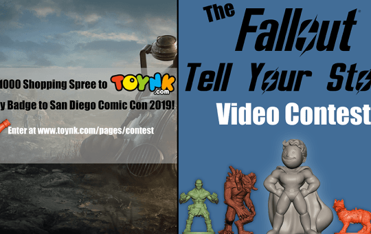 Fallout Nanoforce Tell Your Story Contest Toynk Toys 2019
