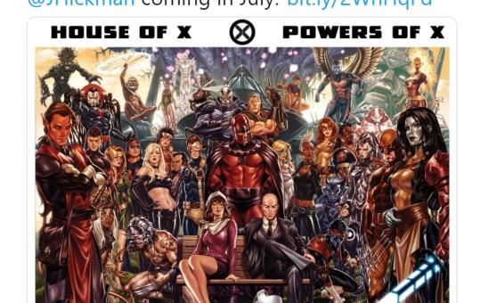 Hickman Marvel X-Men House of X Powers of X