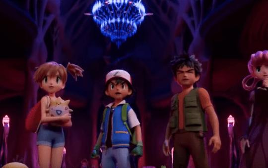 Mewtwo Strikes Back Evolution Pokemon CGI movie