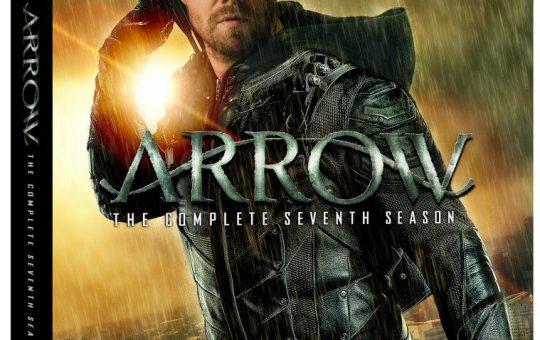 arrow season 7 blu-ray dvd