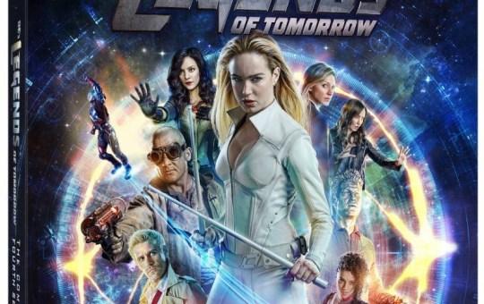 DC's Legends of Tomorrow Season 4 Blu-ray DVD release September 2019