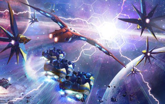 Cosmic Rewind Guardians EPCOT