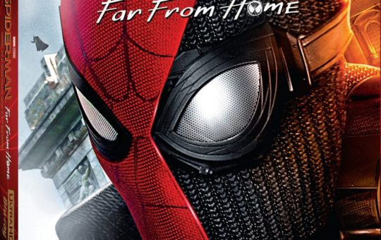 Spider-Man Far From Home Blu-ray release