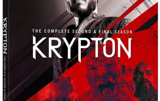 Krypton Season 2 Blu-ray DVD