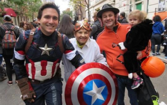 Ben Kallos Captain America