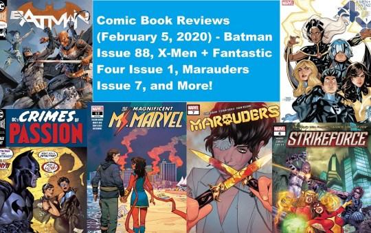 comic book reviews batman x-men