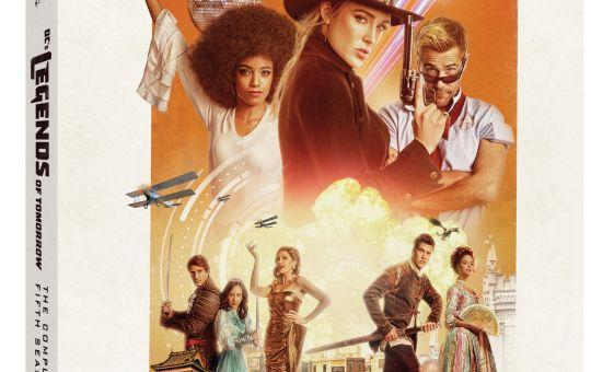 Legends of Tomorrow Season 5 Blu-ray DVD