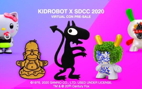 Kidrobot SDCC Virtual Con 2020