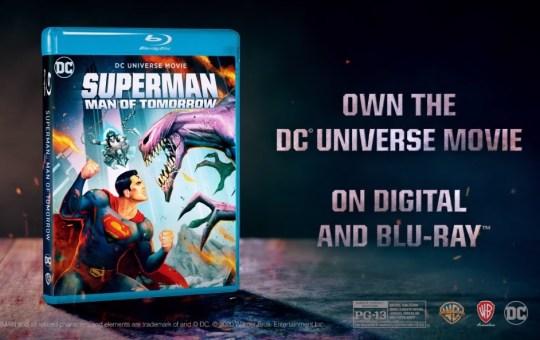 Superman man of tomorrow blu-ray