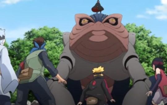 karma boruto anime 187 review