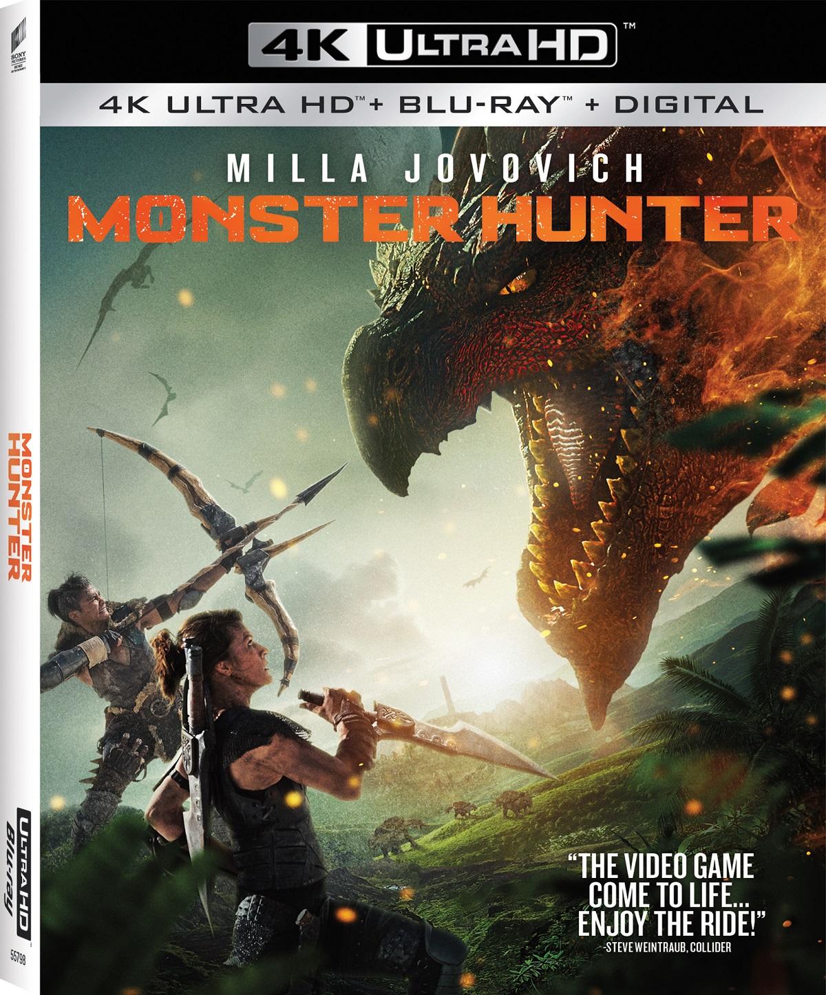 Monster Hunter Digital Feb 16 4k Uhd Blu Ray Dvd March 2 2021