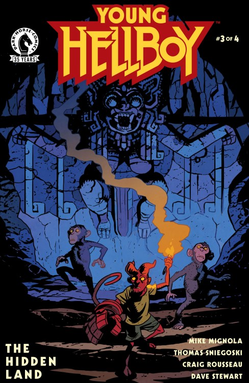 Young Hellboy The Hidden Lands Question 3 Review