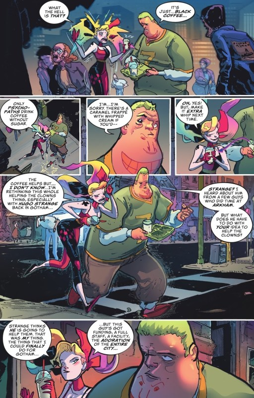 harley quinn number 2 review