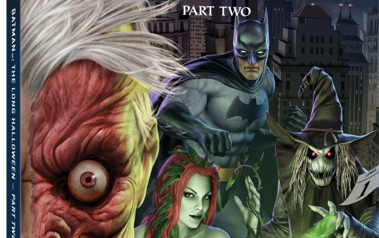 Batman The Long Halloween Part Two Blu-ray release