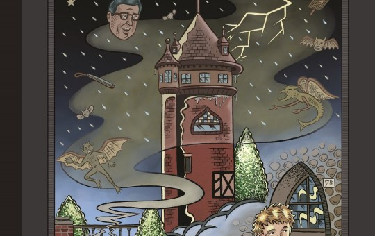 chartwell manor comic book