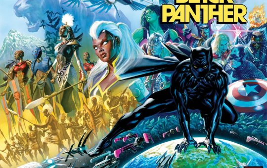 Black Panther issue 1 August release