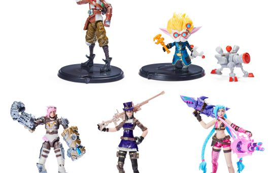 League of Legends Spin Master 4 inch figures