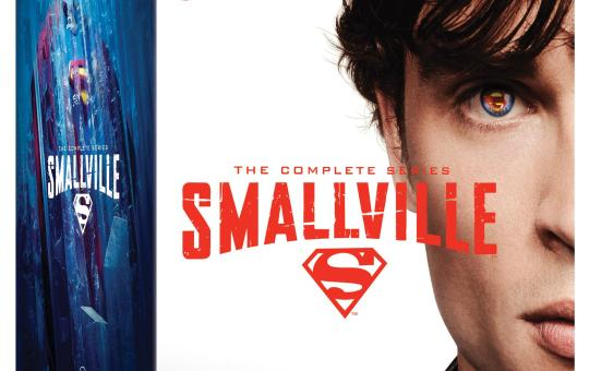 Smallville Complete season Blu-ray release
