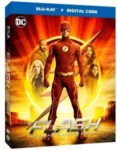 The Flash Season Seven Blu-ray release October 2021