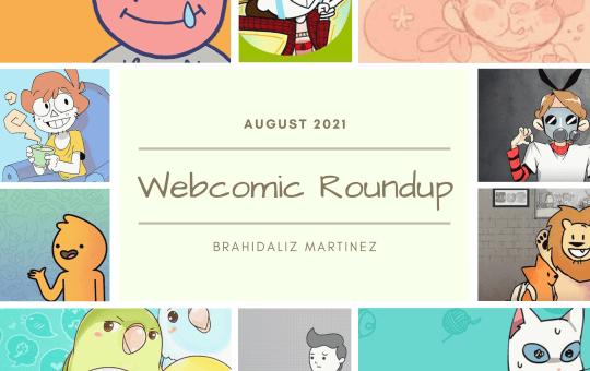 Webcomic Roundup August 2021
