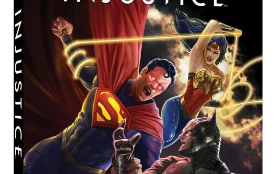 Injustice animated movie 4K UHD Blu-ray Digital release
