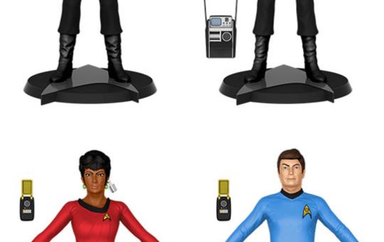 Noble Collection Star Trek BendyFigs
