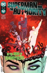 Superman and the Authority issue 3 review