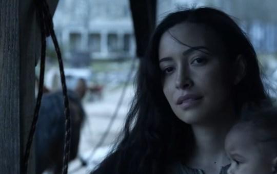 the bitching dead issue 38 Rosita's eyebrows in The Walking dead season 11