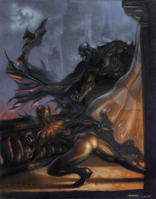 Batman vs. Catwoman by Moritat