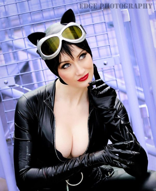 Catwomen cosplay by Dayna Baby Lou