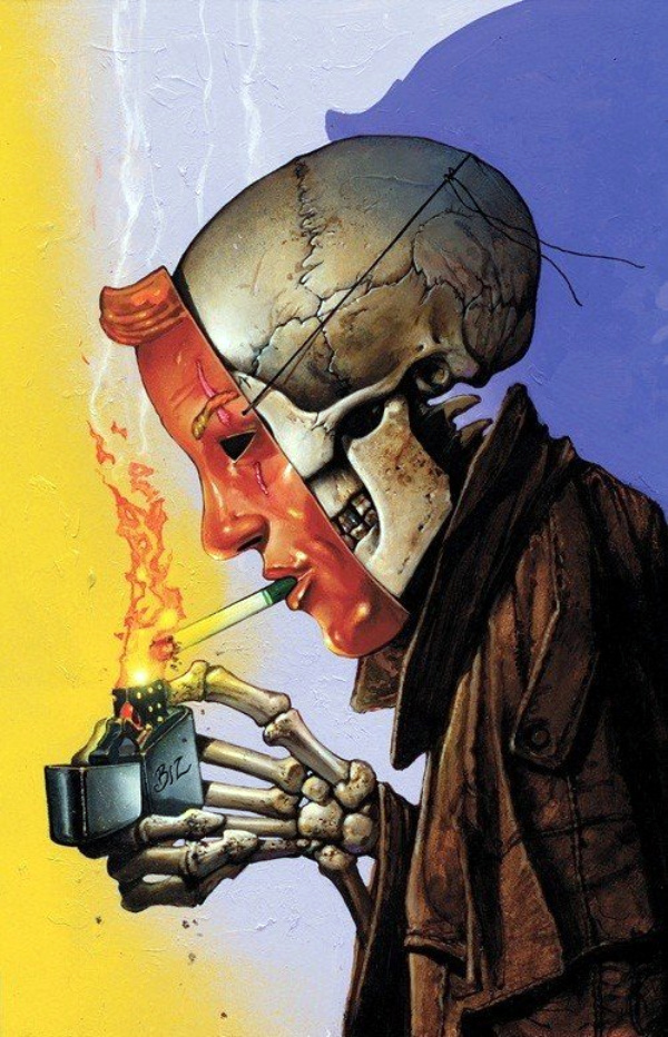 Hellblazer #298 cover by Simon Bisley