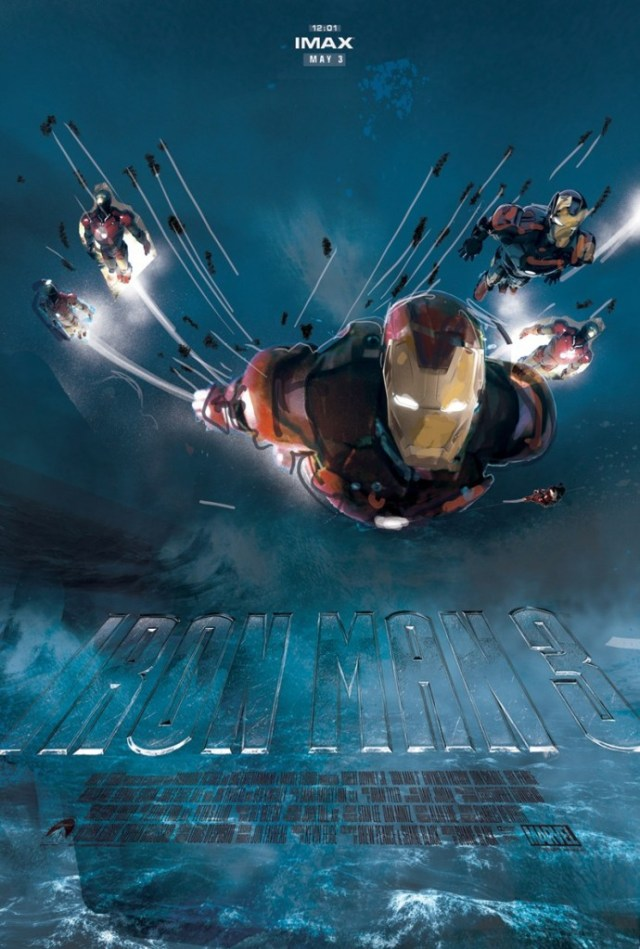 Iron Man 3 poster 3 by Jock