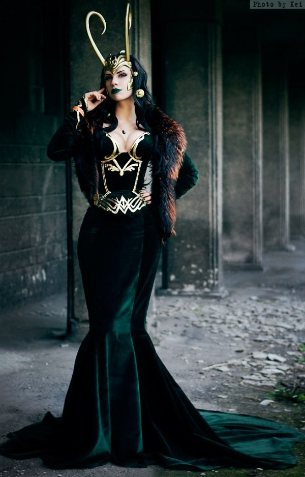 Lady Loki, cosplayed by jojoska