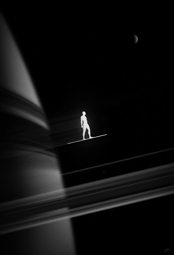 Silver Surfer, Sentinel of the Spaceways by Marko Manev